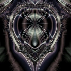 mind mastery transcension maturity silver-black abstract image